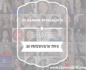 30 interview tips 35 specialists
