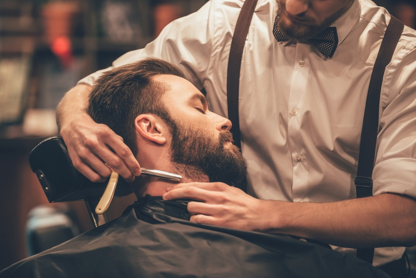 Learning to become a barber