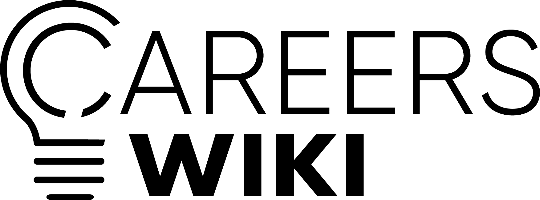 CareersWiki Logo Black
