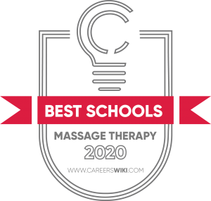 Best Massage Therapy Schools Badge