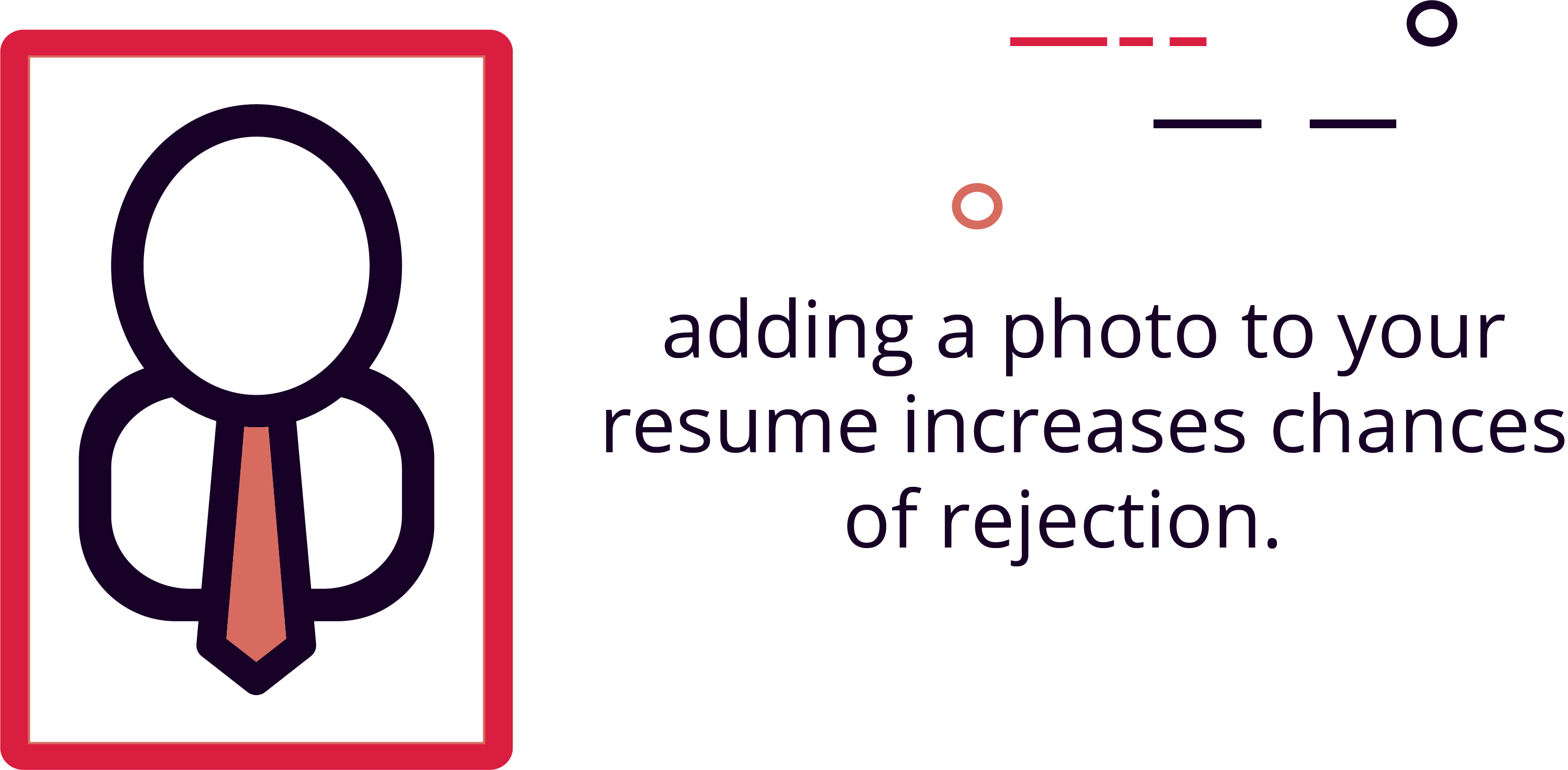 Adding a Photo Can Increase Chances of Rejection by 80%