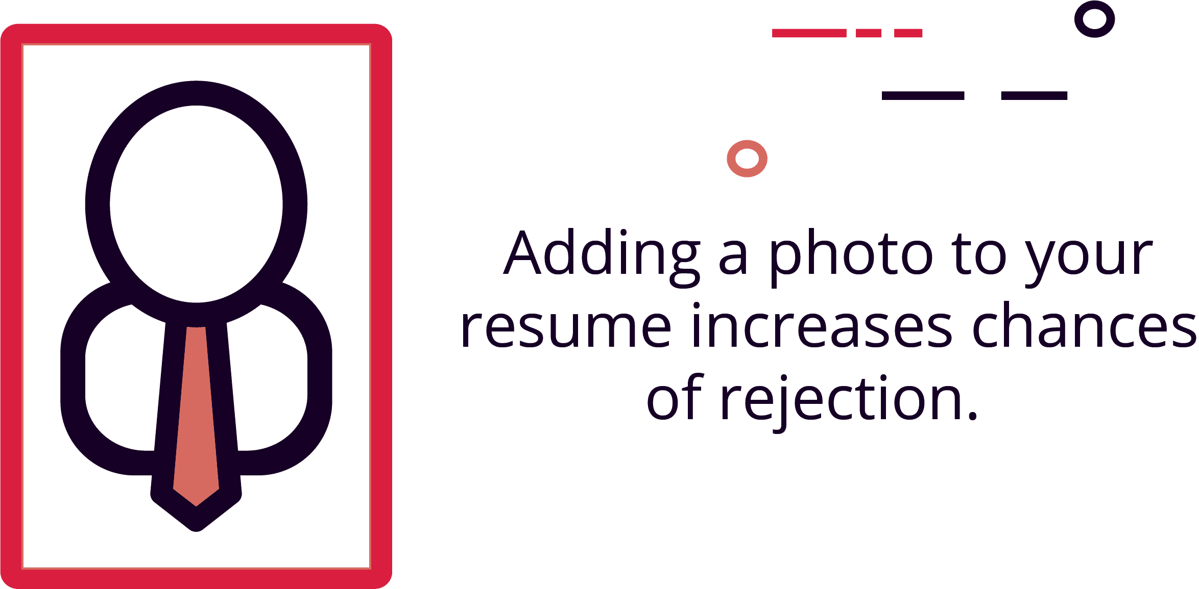 Resumes with photos are 88% more likely to be rejected