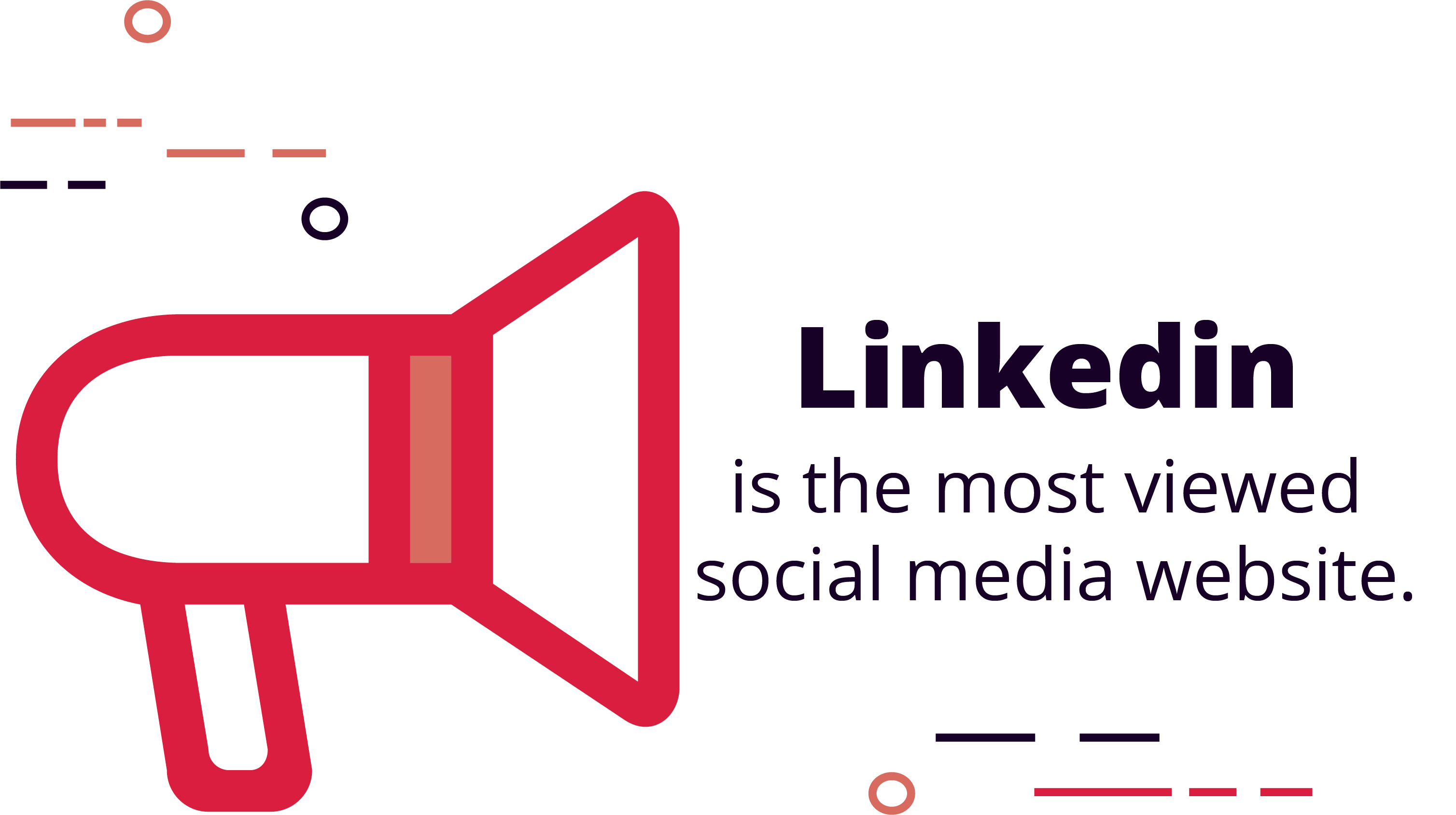 LinkedIn is the most viewed social media website by recruiters