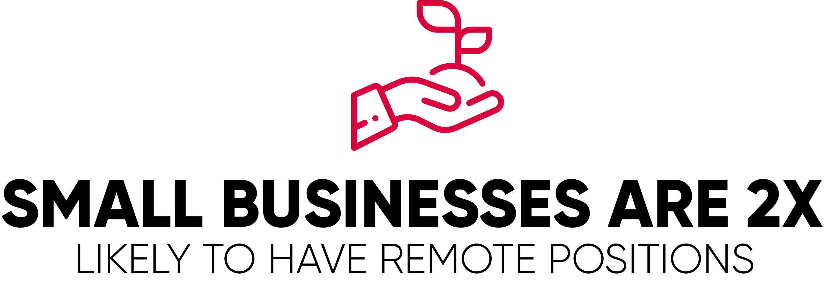 Small Businesses are Twice as Likely to Have Remote Positions